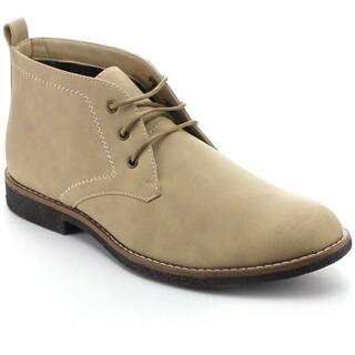 Arider COOPER-03 Men's High-top Lace-up Chukka Ankle Boots (2 options available)
