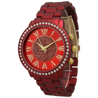 Olivia Pratt Women's Center Sparkle Bracelet Watch