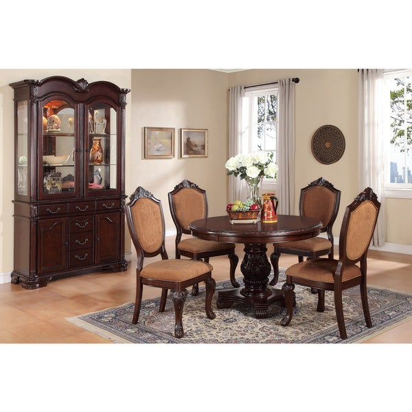 Siverek 5-Piece Dining Set In Espresso