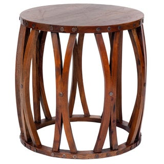Decorative Hebo Casual Round Accent Table