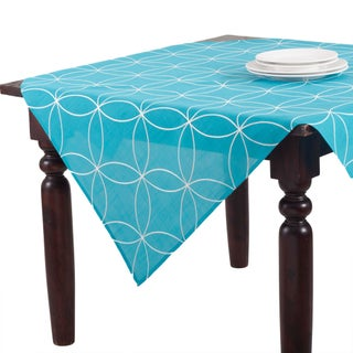 Stiched Tile Design Topper - 50 x 50
