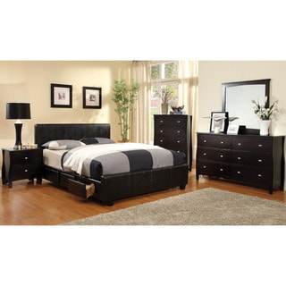 Furniture of America Larington 4-piece Modern Bedroom Set