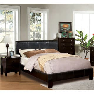 Carbon Loft Brenner Espresso 2 Piece Bed And Nightstand Set