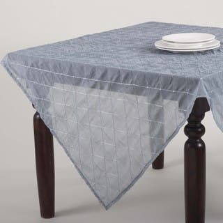 Stitched Sheer Design Topper or Tablecloth|https://ak1.ostkcdn.com/images/products/10071917/P17215875.jpg?impolicy=medium