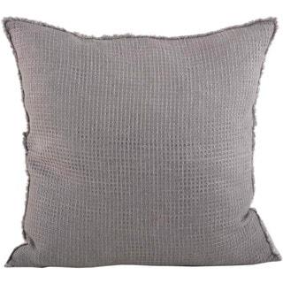 Waffle Weave Design Throw Pillow