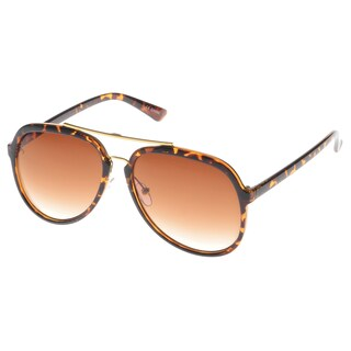 EPIC Eyewear 'Pico' Double Bridge Aviator Fashion Sunglasses