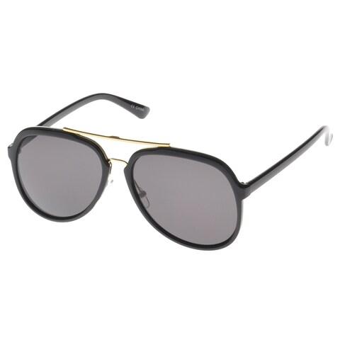 EPIC Eyewear 'Pico' Double Bridge Aviator Fashion Sunglasses