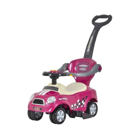 Best Ride On Cars Mini 3 in 1 Push Car Purple