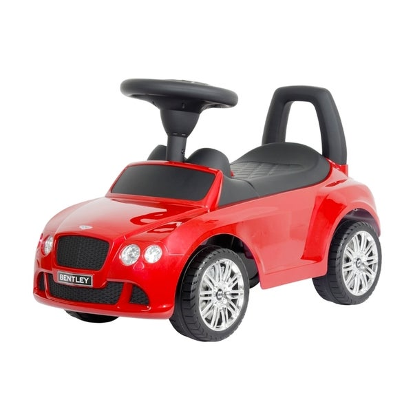 Best Ride on Cars Bentley Push Car St James Red