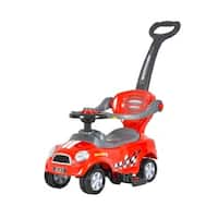 Best Ride On Cars Mini 3 in 1 Push Car Red