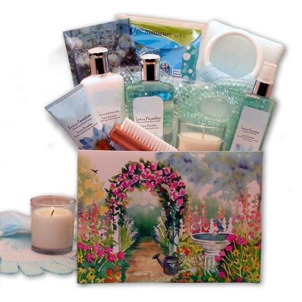 Lotus Botanicals Spa Gift Box - Pink