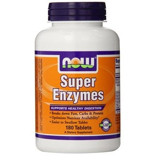 Now Foods Super Enzymes (180 Tablets)