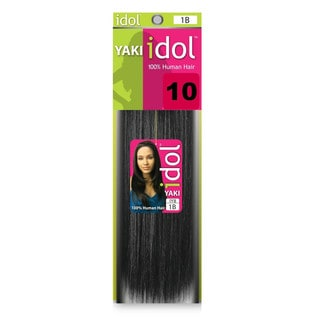 Idol Yaki Weaving 100-percent Human Hair (2 Pack)