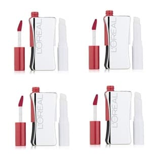 L'Oreal Infallible Never Fail Hibiscus Lipcolor (Pack of 4)