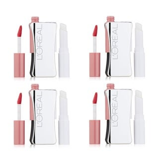 L'Oreal Infallible Never Fail Azalea Lipcolor (Pack of 4)