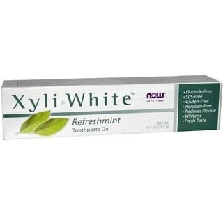 Now Foods Xyli White Refreshment Toothpaste Gel