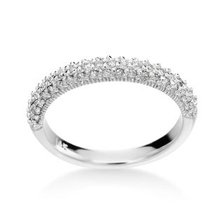 SummerRose 14k White Gold Diamond Band (H-I, SI1-SI2)
