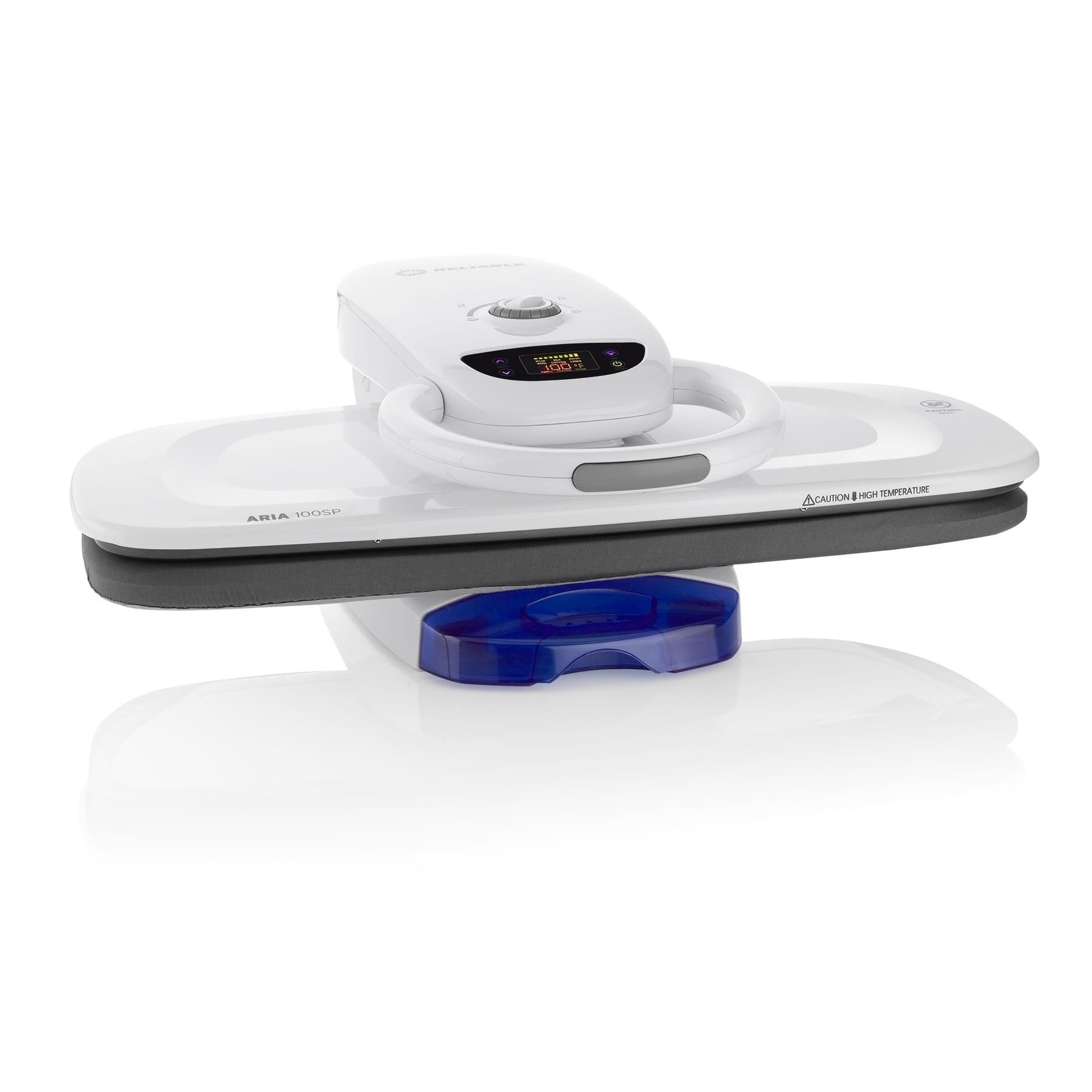 "Reliable Aria 100SP LED Digital Steam Press (28""), White ..."