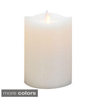 Mystique 360 5-inch Flameless White Pillar Candle