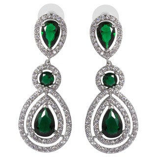 NEXTE Jewelry Silvertone Double Pear-cut Cubic Zirconia Chandelier Cluster Earrings|https://ak1.ostkcdn.com/images/products/10072324/P17216284.jpg?_ostk_perf_=percv&impolicy=medium