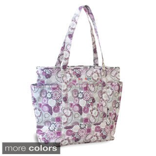 J World New York Emily Lemon or Berry Print Tote Bag