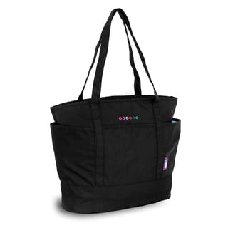J World New York Emily Black Tote Bag