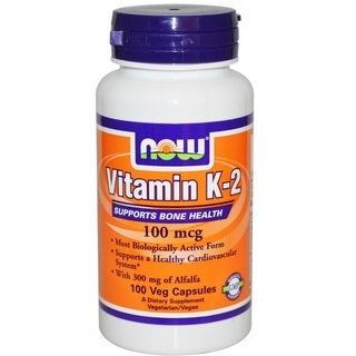 Now Foods Vitamin K-2 (100 Veg Capsules)