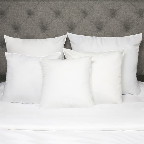 White Down Alternative Euro Square Pillow (Set of 2)