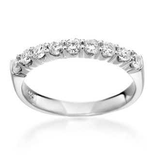SummerRose 14k White Gold 1/2ct TDW Diamond Ring