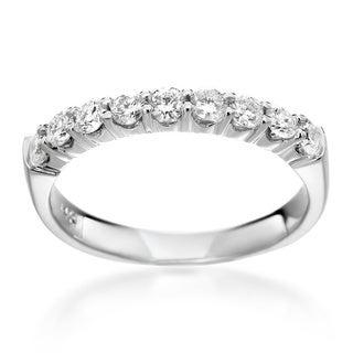 SummerRose 14k White Gold 1/2ct TDW Diamond Ring (H-I, SI1-SI2)