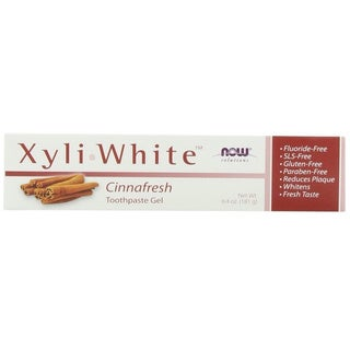 Now Foods Xyliwhite Cinnafresh Toothpaste Gel