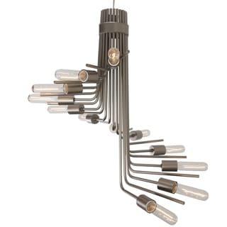 Varaluz Socket-to-me 12-light Chandelier, New Bronze