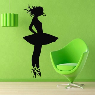 Ballet Ballerina Sticker Vinyl Wall Art