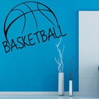 Basketball Inspirational Quote Sticker Vinyl Wall Art