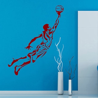 Basketball Player Sticker Vinyl Wall Art