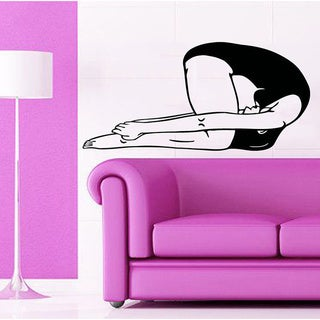 Fitness Yoga Crossfit GYM Decor Sticker Vinyl Wall Art