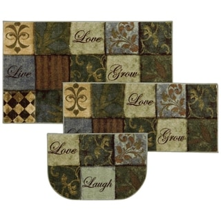 Link to Mohawk Home Les Fleurs La Terre Area Rug Similar Items in Rugs