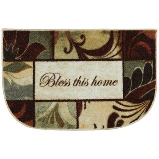 Mohawk Home New Wave Rules To Live By Area Rug - 1'8 x 2'6