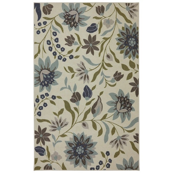 Mohawk Home Woodbridge Clarita Blue Area Rug 7 X27 6 X