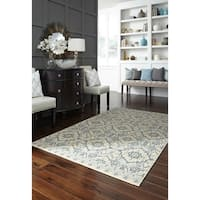 "Mohawk Home Woodbridge Santa Ana Aqua Area Rug - 7'6"" x 10'"