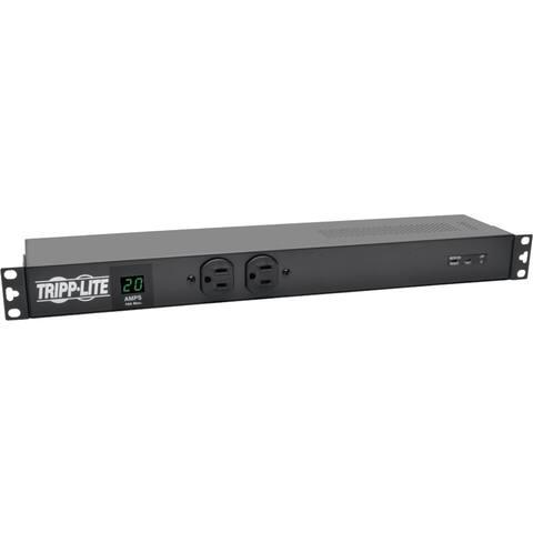 Tripp Lite PDU Metered Isobar Surge 120V 20A 12 5-20R; 2 5-15R L5-20P 1URM
