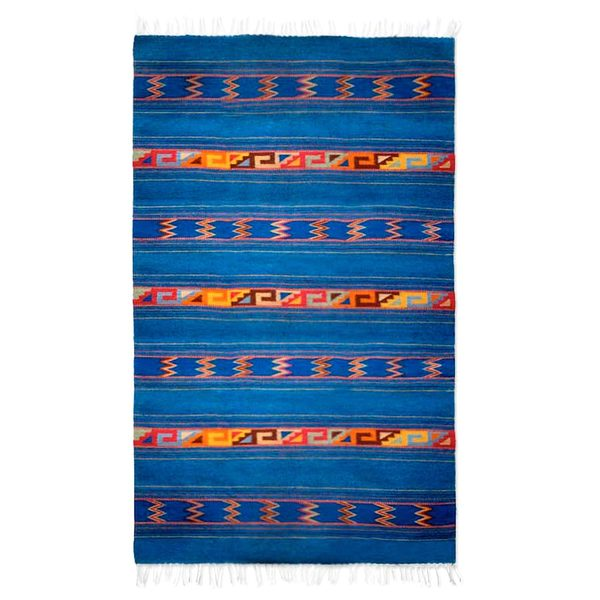 Shop Handmade Warror Life Blue With Multicolors Striped