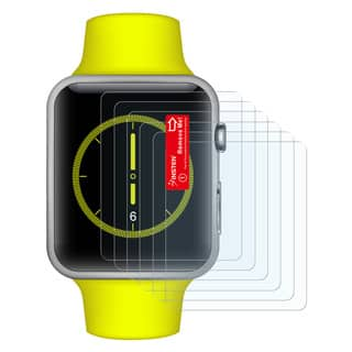 Insten Matte Anti-Glare Screen Protector For Apple Watch 42mm (Pack of 6/ Pack of 3)|https://ak1.ostkcdn.com/images/products/10073829/P17217958.jpg?impolicy=medium