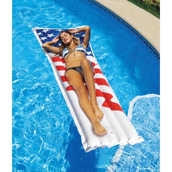 Swimline American Flag Pool Mattress