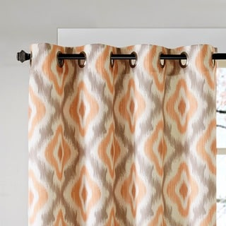 Ink+Ivy Ankara Cotton Printed Curtain Panel