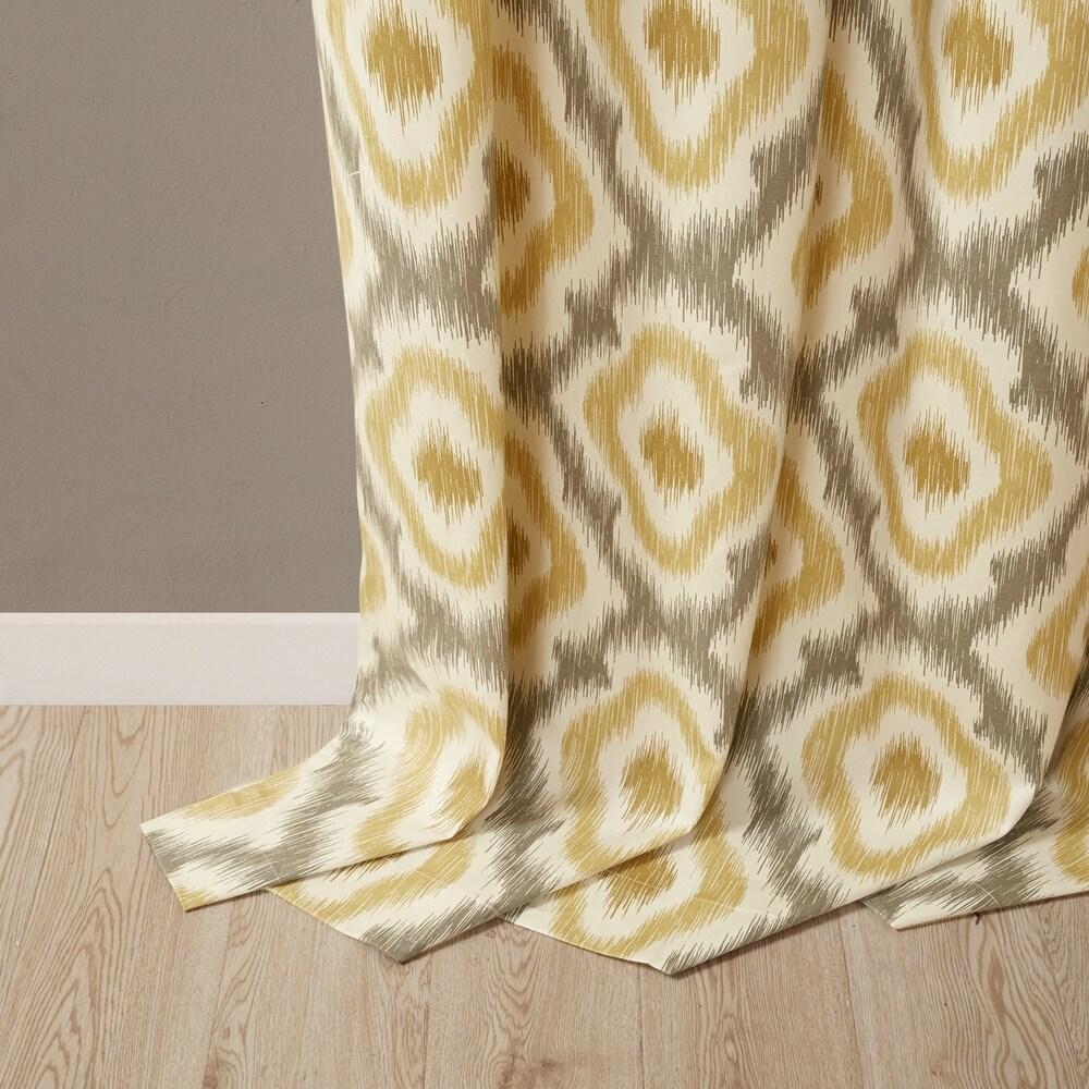 Shop Ink Ivy Ankara Cotton Printed Single Curtain Panel - 10074273