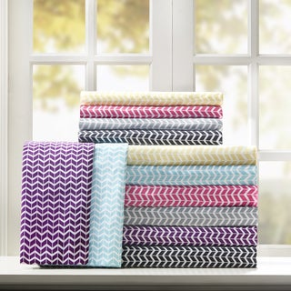 Clay Alder Home Denver Chevron Microfiber Sheet Set