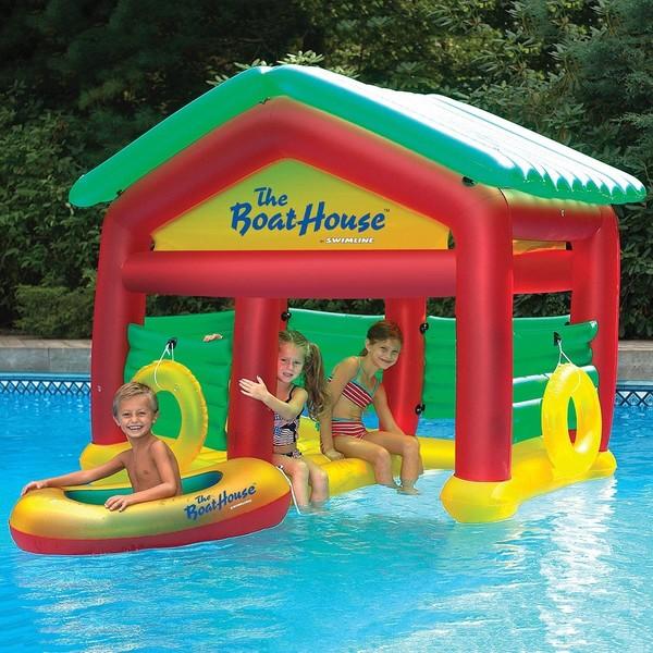 Shop Swimline Boathouse Habitat Pool Float - Free Shipping Today ...
