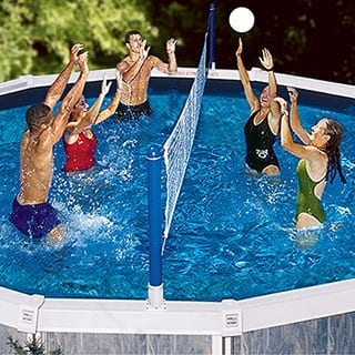 Swimline Cross Pool Above Ground Volleyball
