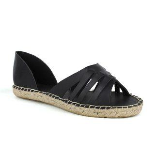 Fahrenheit Women's Leann-05 D'orsay Flat Sandal
